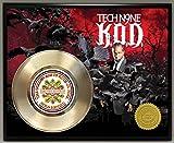 Tech N9ne/Tech Nine Limited Edition Gold Record Poster Art Music Memorabilia Display Plaque
