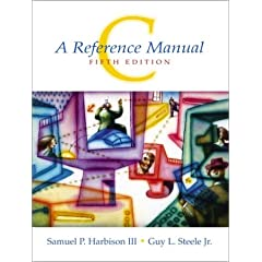 C: A reference Manual By Harbison and Steele