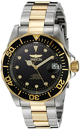invicta pro diver homme 40mm automatique acier inoxydable boitier montre 17043. Black Bedroom Furniture Sets. Home Design Ideas