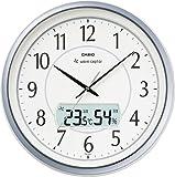 CASIO (カシオ) 掛け時計 WAVE CEPTOR ウェーブセプター 電波時計 温度表示 湿度表示 ITM-460J-8JF