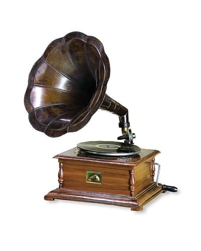 Wood & Metal Gramophone