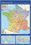 Carte Souple Murale France Departemen...