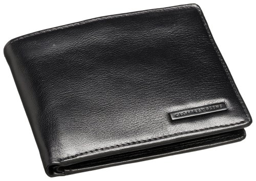 Geoffrey Beene Men's Passcase Billfold, Black, One Size