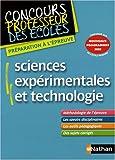 Sciences expérimentales et technologie - CRPE