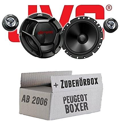 Peugeot Boxer 2 - JVC CS-DR1700C - 16cm 2-Wege Lautsprecher System - Einbauset