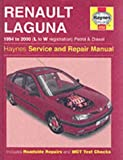 img - for Renault Laguna Petrol and Diesel (1994-2000) Service and Repair Manual (Haynes Service and Repair Manuals) book / textbook / text book