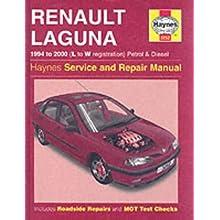 Renault Laguna Petrol and Diesel (1994-2000) Service and Repair Manual (Haynes Service and Repair Manuals) (Hardcover)