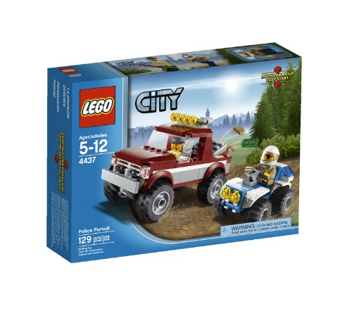 LEGO City Police Pursuit 4437 (Lego Truck And Camper compare prices)