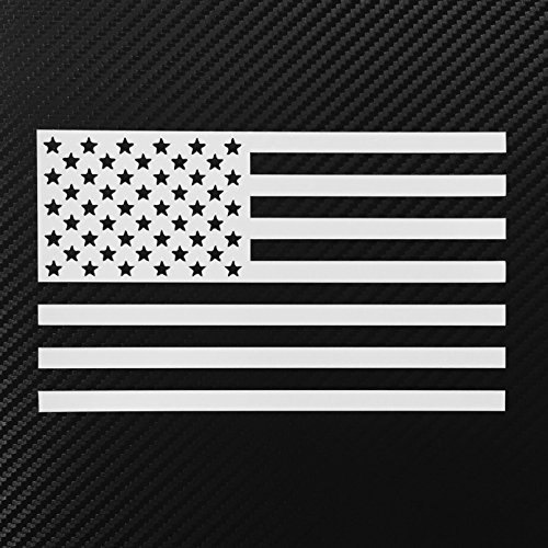American Flag Decal Sticker Custom Die-cut Vinyl USA Merica United States Marines Army Navy Airforce (America Auto Decals compare prices)