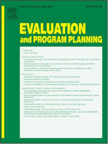Evaluation Of A Statewide Program To Reduce Chronic Disease: The Healthy Hawaii Initiative, 2000-2004 [An Article From: Evaluation And Program Planning]