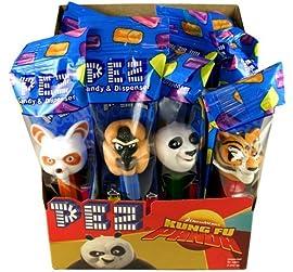 Pez Dispensers - Kung Fu Panda, 12 count display box