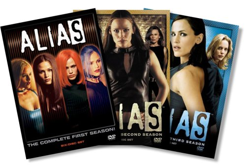 Cover art for  Alias - The First Three Complete Seasons (Amazon.com Exclusive)