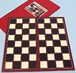 Chess board 40cm. square, folding-00405
