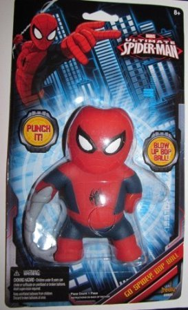 Ultimate Spider-Man Blow Up Bop Ball
