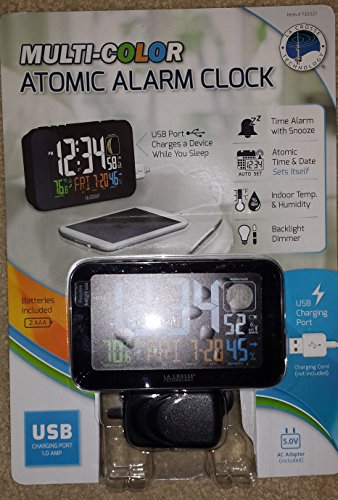 La Crosse Technology Multi-color Atomic Alarm Clock
