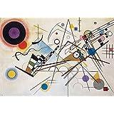 YCC Composition VIII, Wassily Kandinsky Canvas Art Print, Size 24x36, Non-Canvas Poster Print