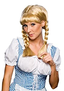 Rubie's Costume Blond Cowgirl Wig from Rubies Costumes - Apparel
