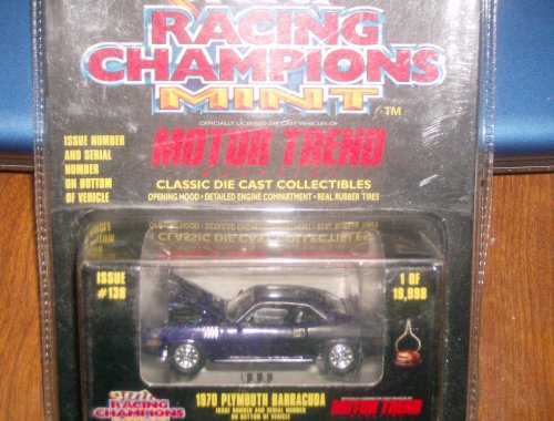 Racing Champions MINT 1970 Plymouth Barracuda