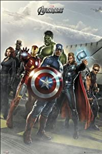 GB eye 61 x 91.5 cm the Avengers Airbase Maxi Poster