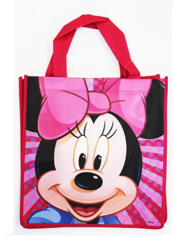 Medium Pink Minnie Mouse Tote Bag - Minnie Mouse Travel Bag