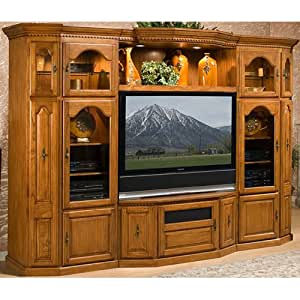 benton harbor entertainment wall unit with 50 inch tv stand television stands. Black Bedroom Furniture Sets. Home Design Ideas