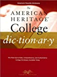 img - for Editors of the American Heritage Dictionaries'sThe American Heritage College Dictionary, Fourth Edition [Hardcover](2010) book / textbook / text book