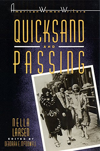 Quicksand and Passing (American Women Writers)