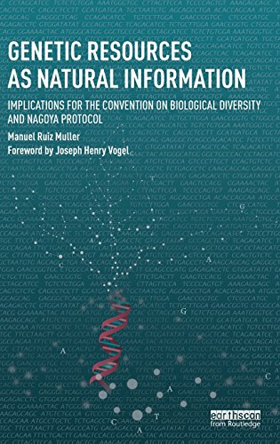 Genetic Resources as Natural Information: Implications for the Convention on Biological Diversity and Nagoya Protocol (Routledge Studies in Law and Sustainable Development)