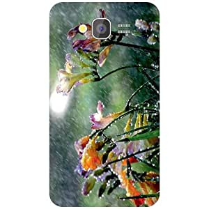 Samsung Galaxy Grand 2 Back Cover - Droplets Designer Cases