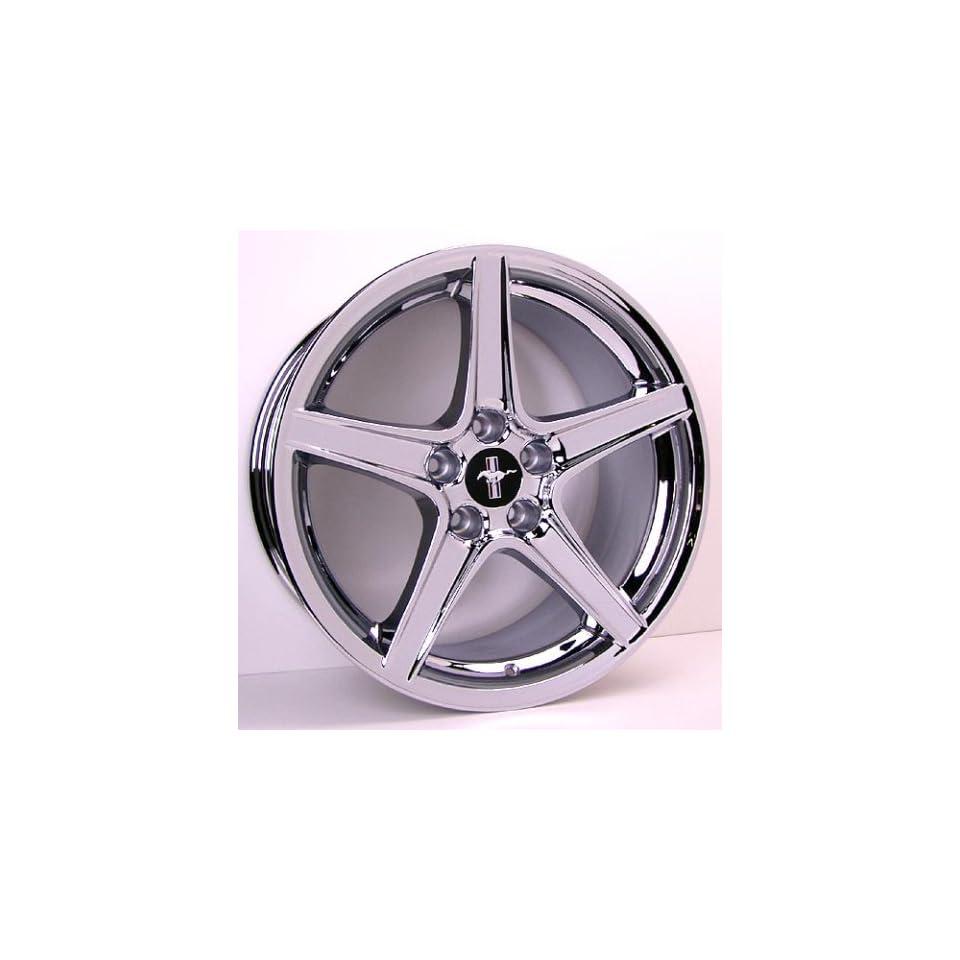 Ford Mustang Saleen Style Wheel Chrome Wheels Rims 1994 1995 1996 1997 1998 1999 2000 2001 2002 2003 2004 2005 94 95 96 97 98 99 00 01 02 03 04 05