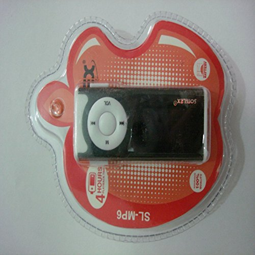 Sonilex MP3 Player with LED Display Supports upto 4GB + USB CABLE & EARPHONE
