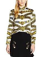Versace Camisa Mujer (Blanco / Dorado)