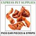1kg Pigs Ear Pieces Dog Treat Chews Food Snack (50-55 Pieces)