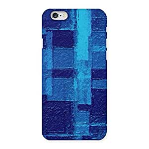 Stylish Premier Blue Pattern Back Case Cover for iPhone 6 6S