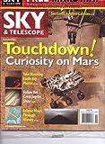 SKY & Telescope Magazine. FREE MARS MAP. Nov 2012.