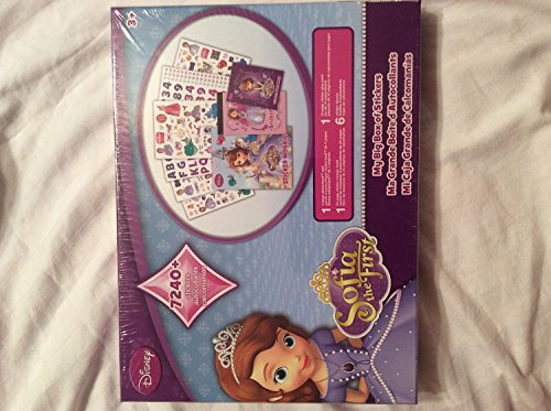 Disney Sofia the First My big Box of Stickers 7240+