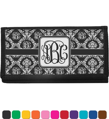 Monogrammed Damask Personalized Checkbook Cover front-816470