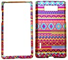IMAGITOUCH® For LG Splendor Venice US730 Optimus Showtime L86C (Boost, U.S.Cellular, Net 10, StraightTalk) Rubberized 2D Design Colorful Aztec Indian Tribal Stripes Pattern Hard Case Shell Cover Phone Protector Faceplate
