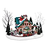 Department 56 Christmas Lane Series Animated Snow Village, Santa's Wonderland House