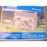 Creatology Wooden Puzzle ~ Ranch House