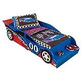 KidKraft Toddler Racecar Bedding Set (4-Piece)