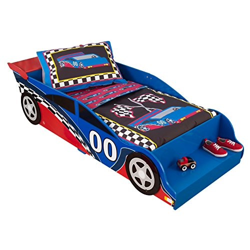 Kidkraft Toddler Racecar Bedding Set (4-Piece)