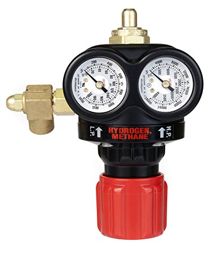 Victor 0781-5111 ESS3 Medium Capacity EDGE Series Hydrogen/Methane Regulator (Hydrogen Pressure Gauge compare prices)