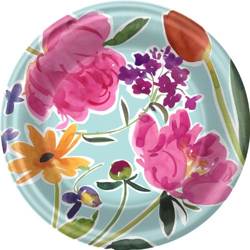 Breezy Blooms Dinner Plates