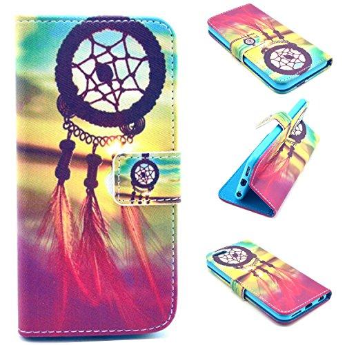 splendidtm-iphone-6-6s-plus-wallet-case-colorful-premium-pu-leather-stand-up-flip-aztec-sunrise-drea