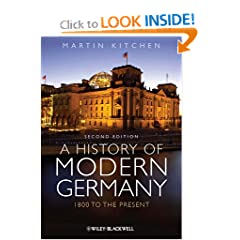 A History of Modern Germany: 1800 to the Present by Martin Kitchen