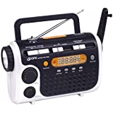 GPX RWB4004SP 7-Channel NOAA Weatherband AM/FM Flashlight Radio with 3-Way Rechargeable Circuitry (Discontinued by Manufacturer)