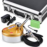 Heart Design Rechargeable Mini Air Compressor Dual Action Airbrush Kit