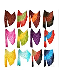 Famacart Women's Ethnicwear Combo Pack Of 12 Cotton Dupattas