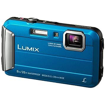 DMC-FT30 Camera Blue 16.1MP 4xZoom 2.7LCD 720pHD 25mm